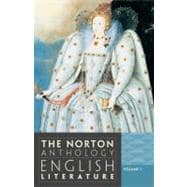 Norton Anthology of English Literature,9780393912470