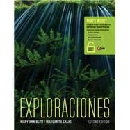 Exploraciones (with iLrn� Heinle Learning Center, 4 terms (24 months) Printed Access Card)