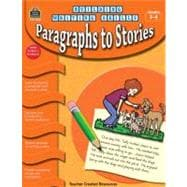Building Writing Skills: Paragraphs to Stories, 9781420632491  