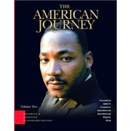 American Journey, The: Teaching and Learning Classroom Edition, Volume 2,9780131992498