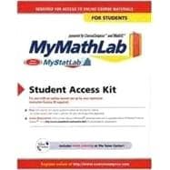 Mymathlab Mystatlab Student Access Kit For Ad Hoc Valuepacks