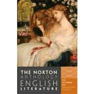 Norton Anthology of English Literature Vol. E : The Victorian Age,9780393912531