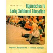 Approaches to Early Childhood Education,9780130852540