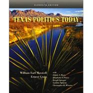 Texas Politics Today (with InfoTrac),9780534612542