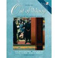 Out of Many: A History of the American People, Volume 2, Media and Research Update,9780131502550