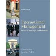 International Management: Culture, Strategy, and Behavior,9780078112577