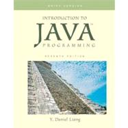 Introduction to Java Programming, Brief,9780136042587