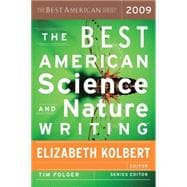 The Best American Science and Nature Writing 2009, 9780547002590  