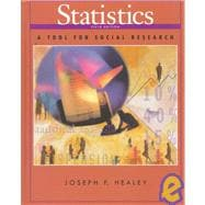 Statistics : A Tool for Social Research,9780534552602