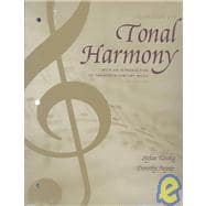 Workbook for Tonal Harmony : With an Introduction to Twentieth-Century Music