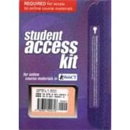 WebCT Student Access Kit for Biology