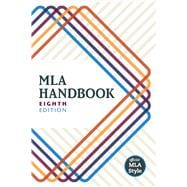 MLA Handbook, 8th Edition