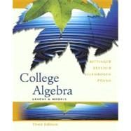 College Algebra : Graphs and Models Graphing Calculator Manual Package