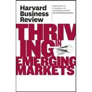 Harvard Business Review on Thriving in Emerging Markets,9781422162637