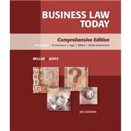Study Guide for Miller/Jentz's Business Law Today: Comprehensive,9780324782639