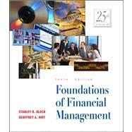 Foundations of Financial Management,9780072422641