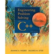 Engineering Problem Solving with C++, 9780132492652