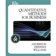 Quantitative Methods for Business With Infotrac