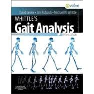 Whittle's Gait Analysis (Book with Access Code),9780702042652