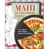 Student Solutions Manual to accompany Math in Our World