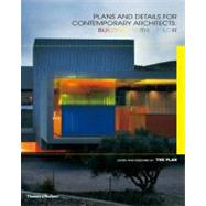 Plans and Details for Contemporary Architects : Building wit..., 9780500342671  