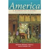 America Vol. 2 : A Narrative History,9780393912678