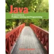Java An Introduction to Problem Solving and Programming,9780132162708