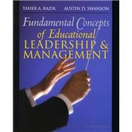 Fundamental Concepts of Educational Leadership and Management,9780132332712