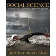 Social Science : An Introduction to the Study of Society, 9780205702718  