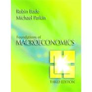 Foundations of Macroeconomics plus MyEconLab plus eBook 1-semester Student Access Kit,9780321412720