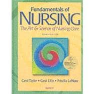 Fundamentals of Nursing: The Art & Science of Nursing Care,9780781722735