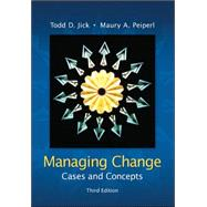 Managing Change:  Cases and Concepts,9780073102740