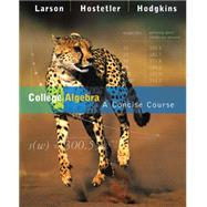 College Algebra : A Concise Course,9780618492763
