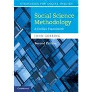 Social Science Methodology : A Unified Framework, 9780521132770