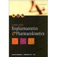 Applied Biopharmaceutics and Pharmacokinetics