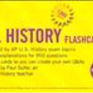 CliffsNotes AP U.S. History Flashcards,9780470282793