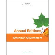Annual Editions: American Government, 44/e