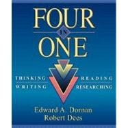 Four in One : Thinking, Reading, Writing, Researching,9780205152803