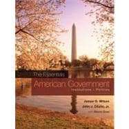 American Government : Institutions and Policies,9780495802822