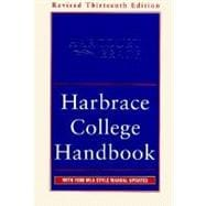 Harbrace College Handbook: With 1998 Mla Style Manual Updates,9780155072824