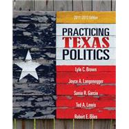 Practicing Texas Politics,9780495802846