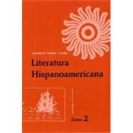 Literatura Hispanoamericana, Edicin revisada, Tomo 2