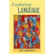 Exploring Language,9780205172863