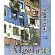 Intermediate Algebra,9780030262869