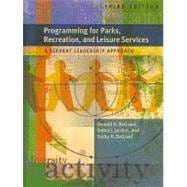Programming for Parks, Recreation, and Leisure Services: A S..., 9781892132871  