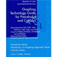 Graphing Technology Guide for Calculus and Precalculus