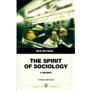 Spirit of Sociology,9780205762880