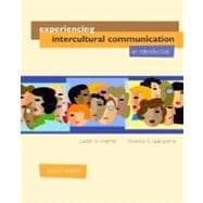 Experiencing Intercultural Communication : An Introduction,9780072862898