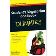 Student's Vegetarian Cookbook For Dummies, 9780470942918  