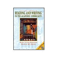 Reading and Writing in the Academic Community with 2001 APA Guidelines,9780130452948